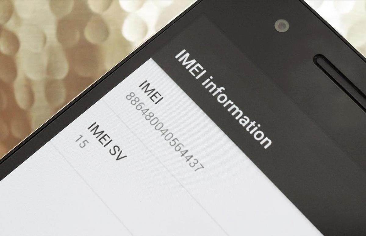 IMEI là mã số duy nhất trên smartphone. Ảnh: Oaxaca Digital.