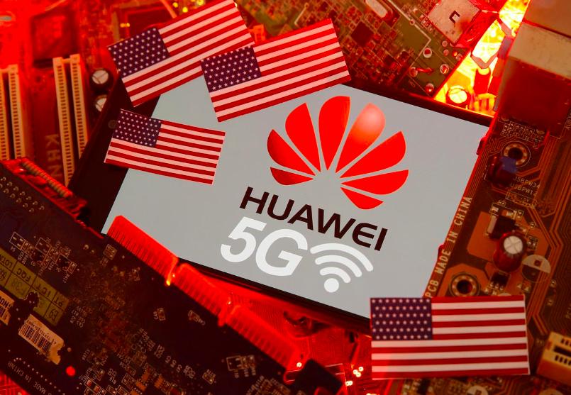 Mỹ có thể nới lỏng một số lệnh cấm với Huawei, cho phép công ty này tham gia các dự án 5G. Ảnh: Reuters.