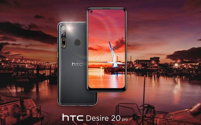 HC Desire 20 Pro.