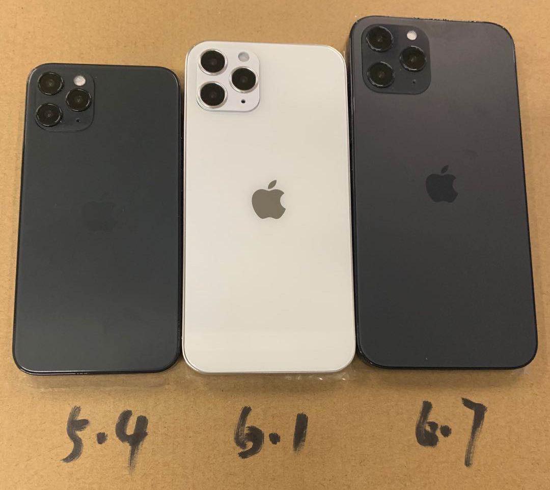 Ba kích thước iPhone 12 mới.