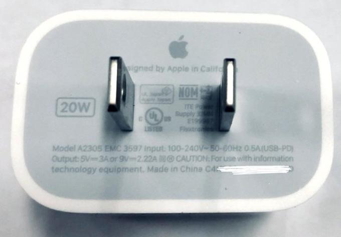 iPhone 12 dùng sạc nhanh 20W