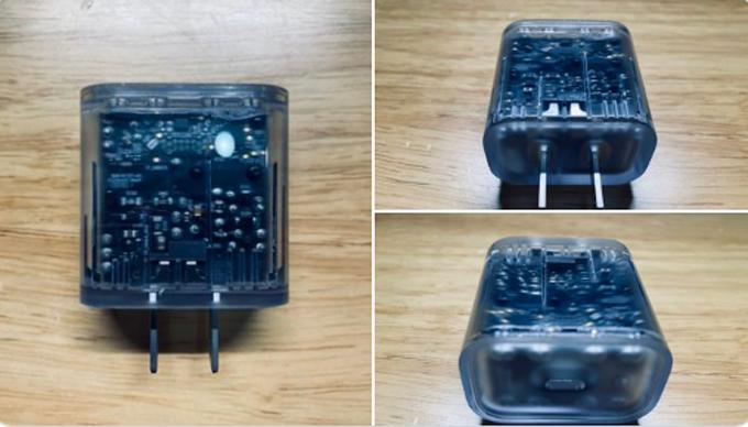 Hai hình ảnh về củ sạc 20W được cho là của iPhone 12.