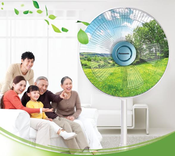 Công nghệ 1/f Yuragi mang đến làn gió tự nhiên cho người dùng cảm giác thoải mái trong thời gian dài sử dụng.