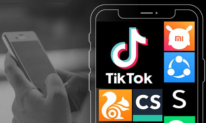 TikTok được dự đoán sẽ thiệt hại nặng vì lệnh cấm. Ảnh: Indianexpress.