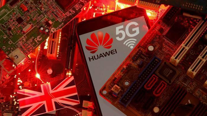 Thiết bị và công nghệ 5G Huawei sẽ bị loại bỏ khỏi hệ thống mạng của Anh trong 2020. Ảnh: CGTN.