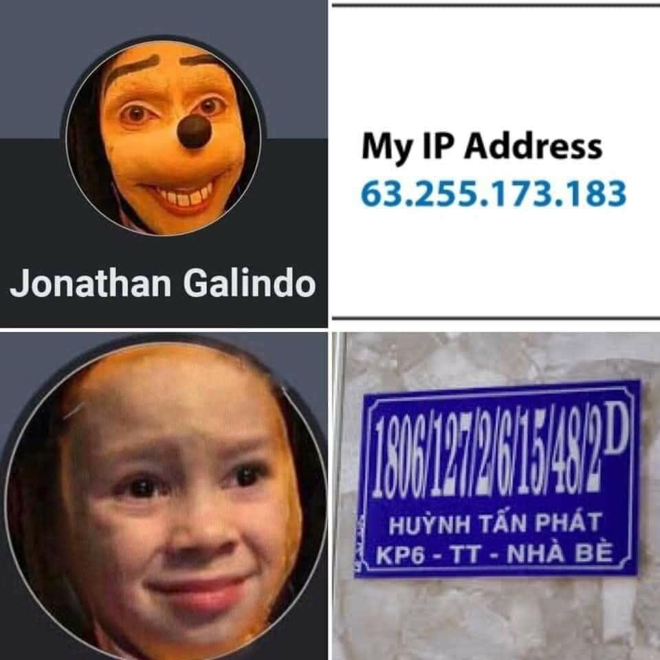 Jonathan Galindo được xem như ông kẹ khiến người dùng quốc tế khiếp sợ nhưng về đến Việt Nam lại trở thành trào lưu chế ảnh của người dùng mạng xã hội.