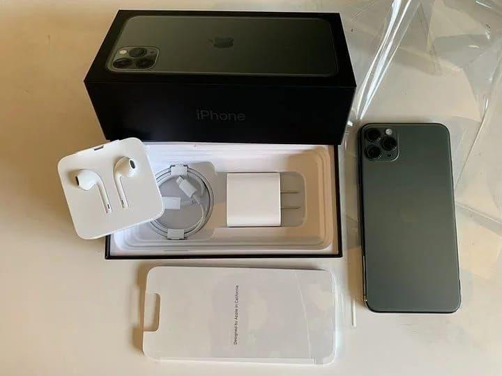 Hộp đựng và khay chứa máy của iPhone 11 Pro hiện tại. Ảnh: Pinterest.