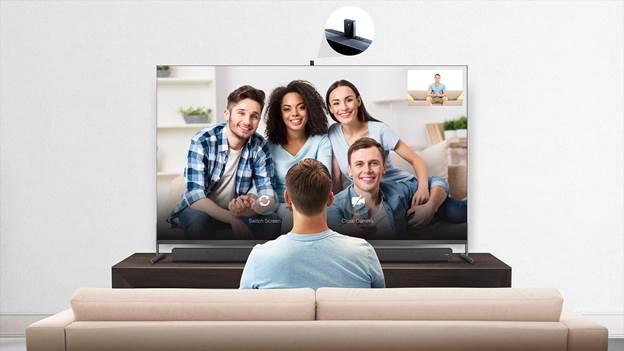 Tính năng camera ẩn tích hợp hiện đại từ TCL QLED TV