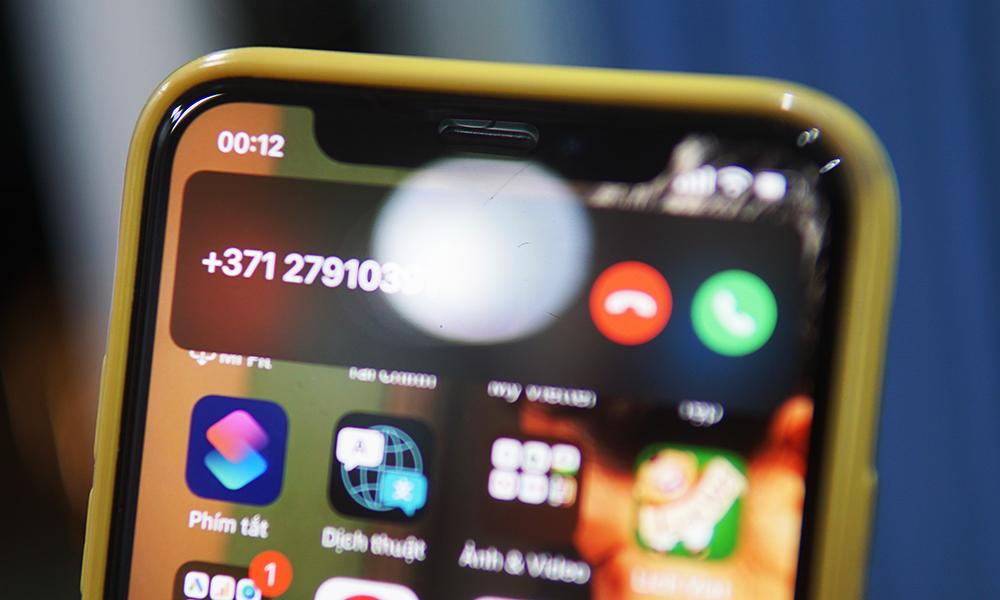 Cuộc gọi nháy máy từ những đầu số lạ có thể là dấu hiệu của một cuộc gọi lừa đảo.