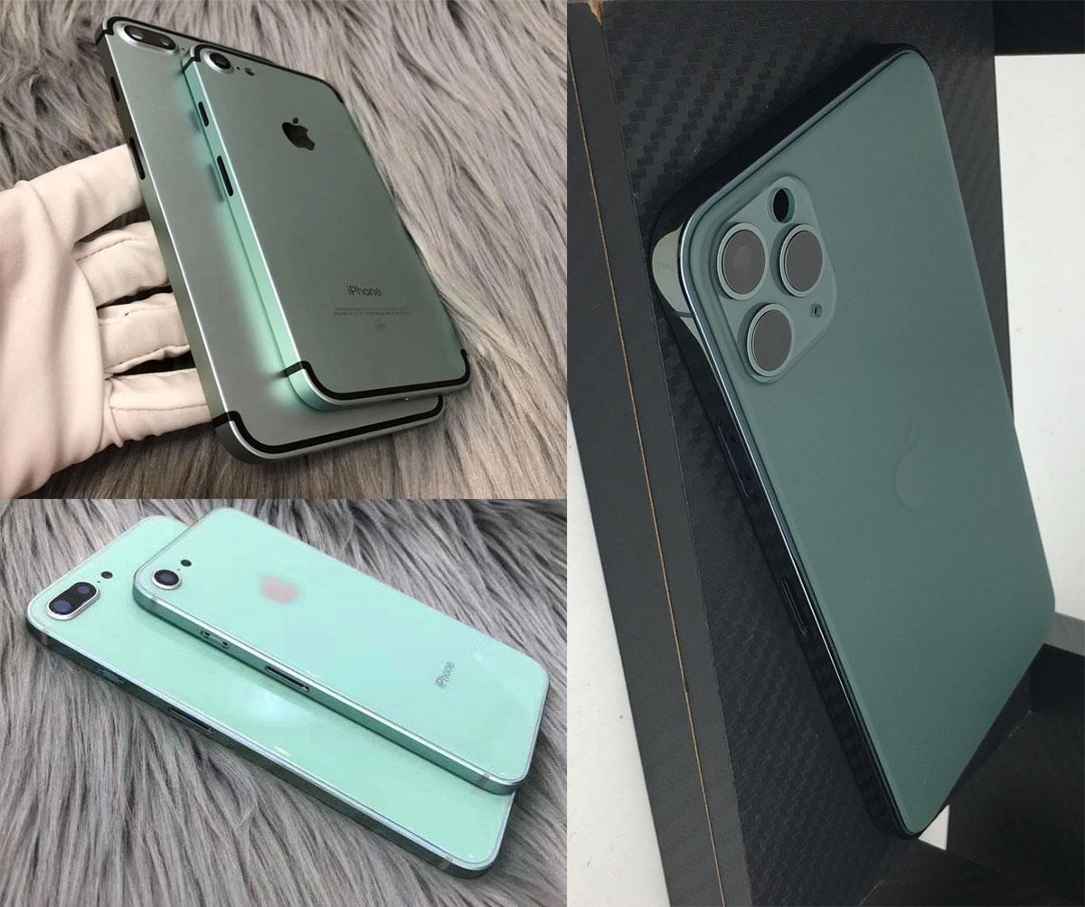 Bộ vỏ độ iPhone 12 có xuất xứ từ Trung Quốc, phù hợp cho nhiều đời máy từ iPhone 7, 8 cho tới XS hay iPhone 11.