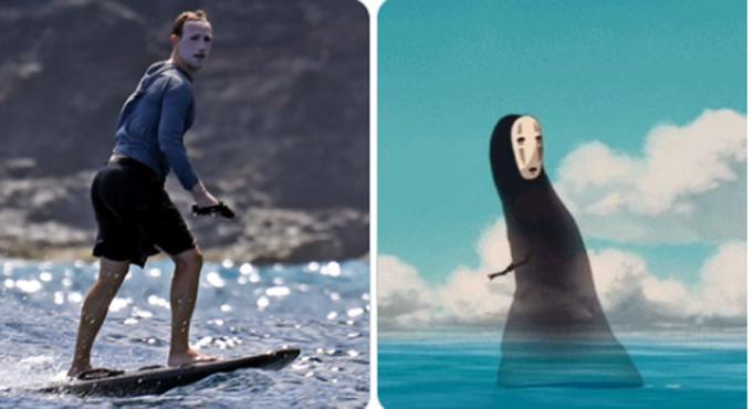 [Tỷ phú 36 tuổi được ví như nhân vật Vô Diện trong phim Spirited Away.