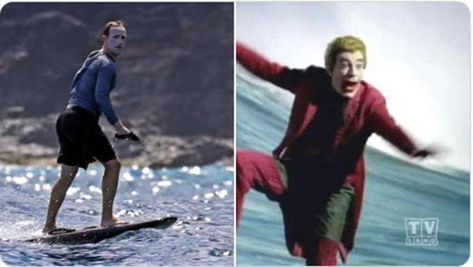 Nhân vật phản diện Joker trong phim Batman.