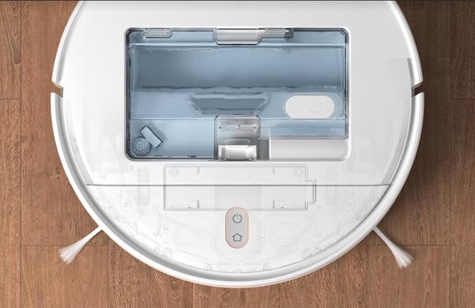 Hộc chứa nước có van điều tiết điện tử.