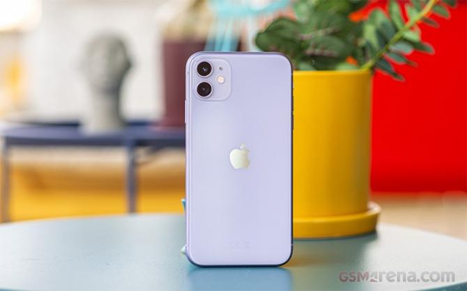 iPhone 11 được sản xuất tại Ấn Độ. Ảnh: Gsmarena