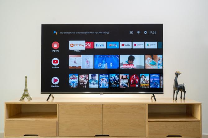 TV VinSmart chạy Android chính chủ.