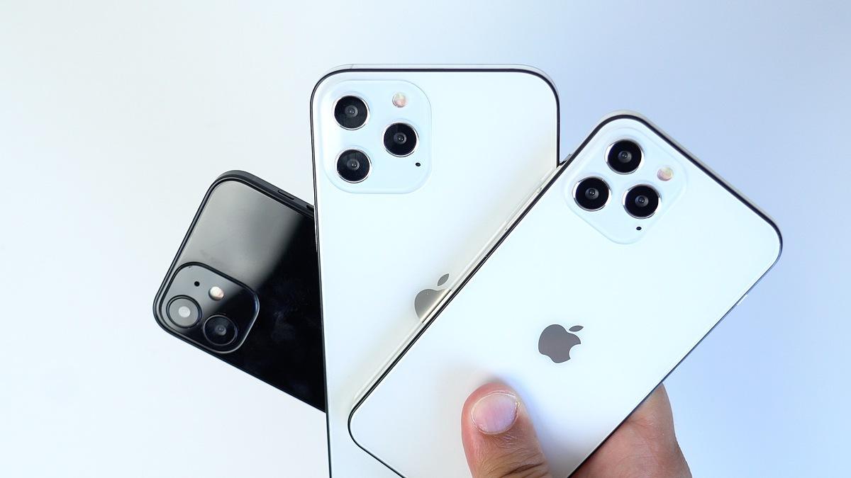 Mô hình iPhone 12 dự kiến. Ảnh: MacRumors