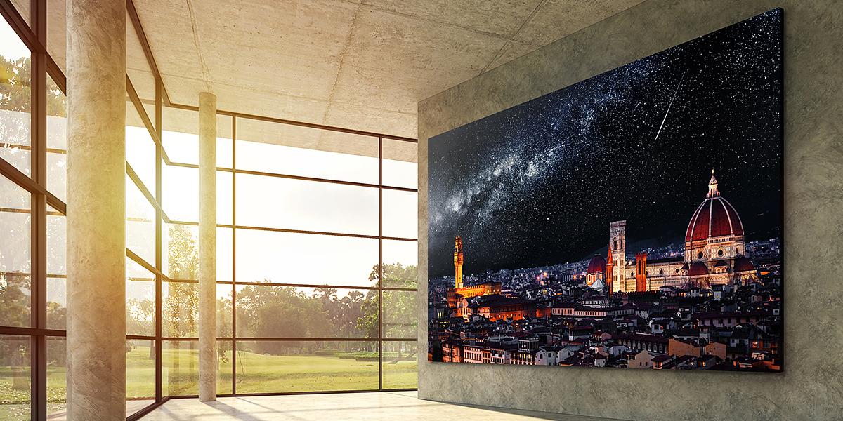 TV microLED 4K 163 inch của LG cạnh tranh với mẫu The Wall có giá 9 tỷ đồng của Samsung..