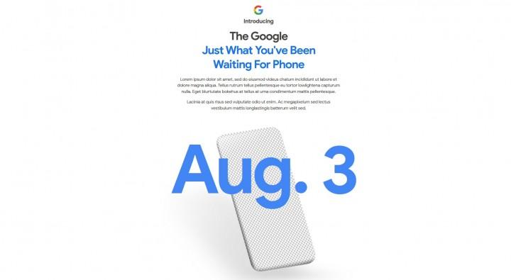Google công bố smartphone mới sớm 2 ngày sự kiện của Samsung.