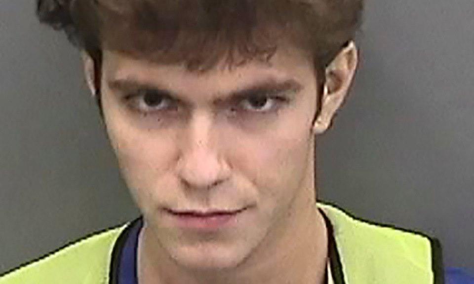 Graham Clark khi bị giam tại nhà tù ở Tampa, bang Florida, Mỹ, hôm 31/7. Ảnh: Reuters.