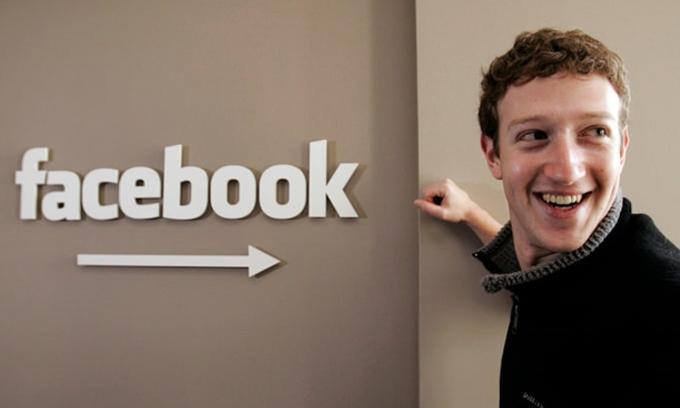 CEO Facebook, Mark Zuckerberg năm 2007. Ảnh: AP.