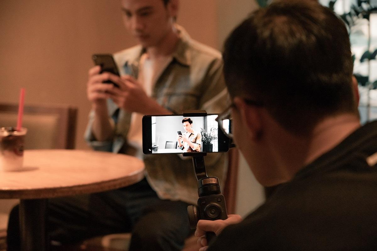 Hậu trường quay video bằng Oppo Reno4