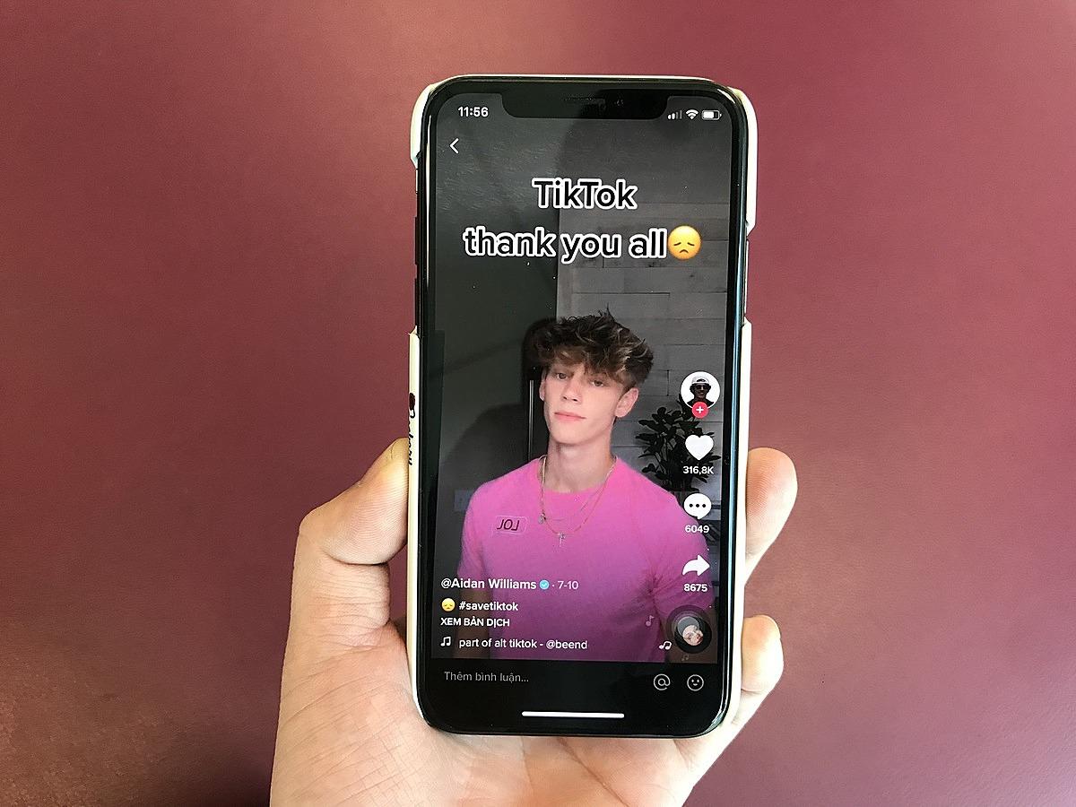 Nhiều người dùng Mỹ tỏ ra tiếc nuối khi chia tay TikTok.