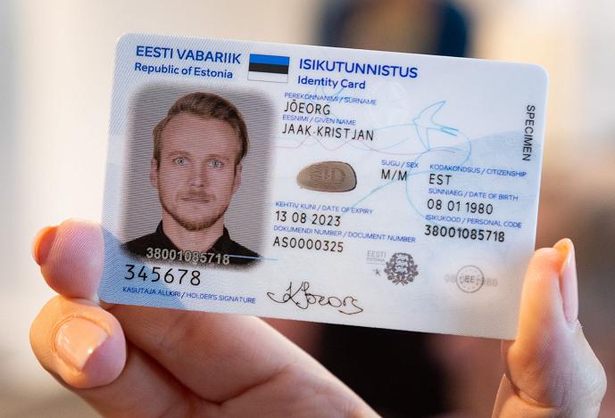 Thẻ căn cước của Estonia từng đối mặt với nguy cơ tấn công cao. Ảnh: Alexela.