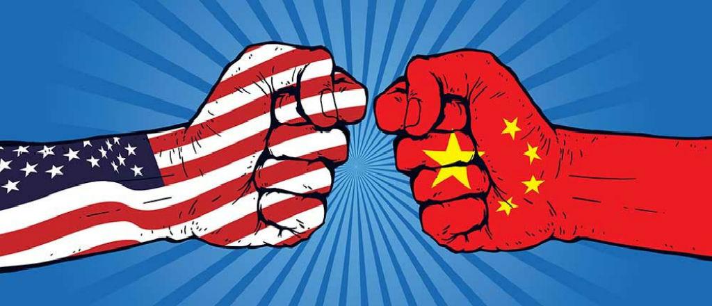 Chiến tranh công nghệ Mỹ - Trung đang căng thẳng hơn bao giờ hết. Ảnh: Kvcr.