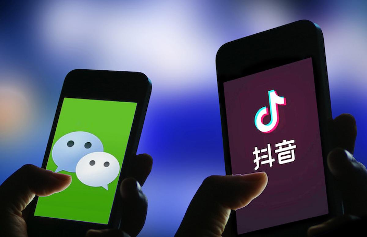 TikTok và WeChat đang là mục tiêu chính của chính quyền Mỹ. Ảnh: CLS.