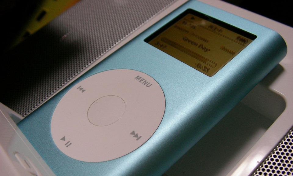 Một mẫu iPod năm 2005. Ảnh: Flickr/Pororinkaori.