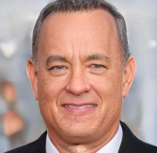 Hình ảnh Deepfake của diễn viên Tom Hanks. Ảnh: FireEye.