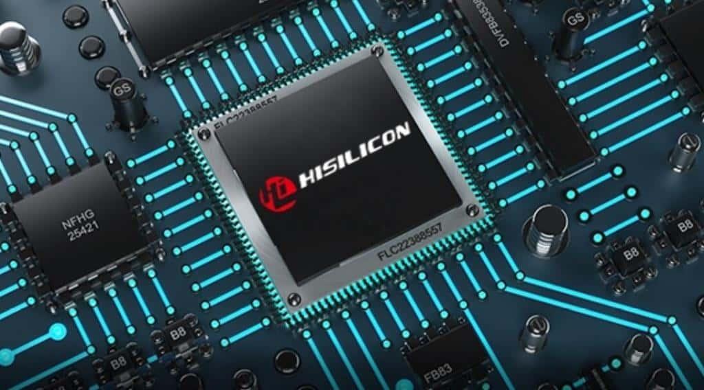Mảng chip HiSilicon của Huawei có nguy cơ biến mất. Ảnh: GizChina.