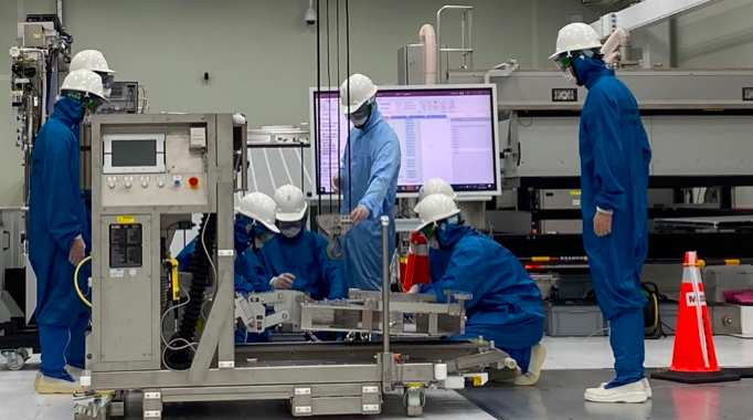 ASML đã mở trung tâm đào tạo ở nước ngoài tiên tiến nhất tại thành phố Đài Nam, miền nam Đài Loan vào ngày 20 tháng 8. Ảnh: Nikkei