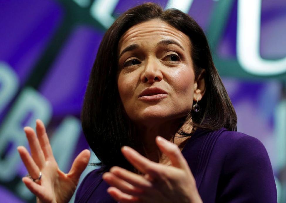 Sheryl Sandberg, Giám đốc điều hành của Facebook. Ảnh: AP.