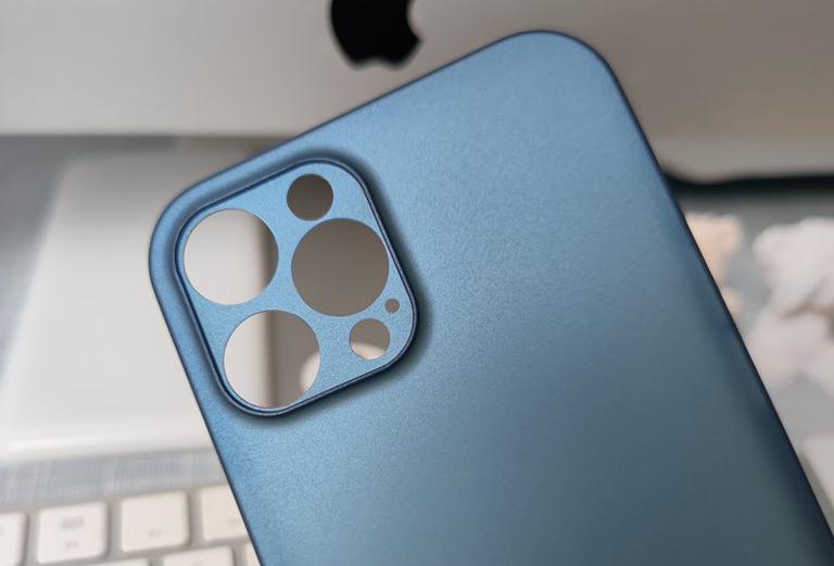 Nắp lưng được cho là của iPhone 12 Pro Max. Ảnh: DuanRui.