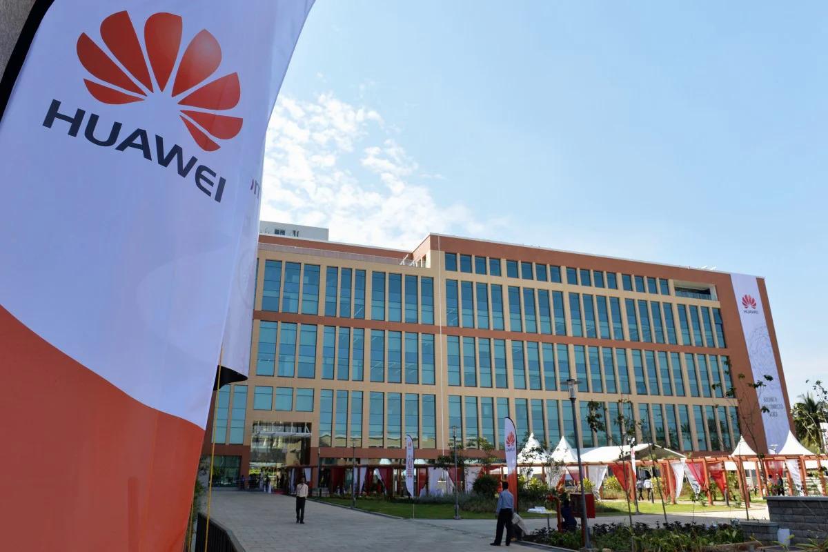 Một trung tâm R&D của Huawei tại Ấn Độ. Ảnh: AFP.