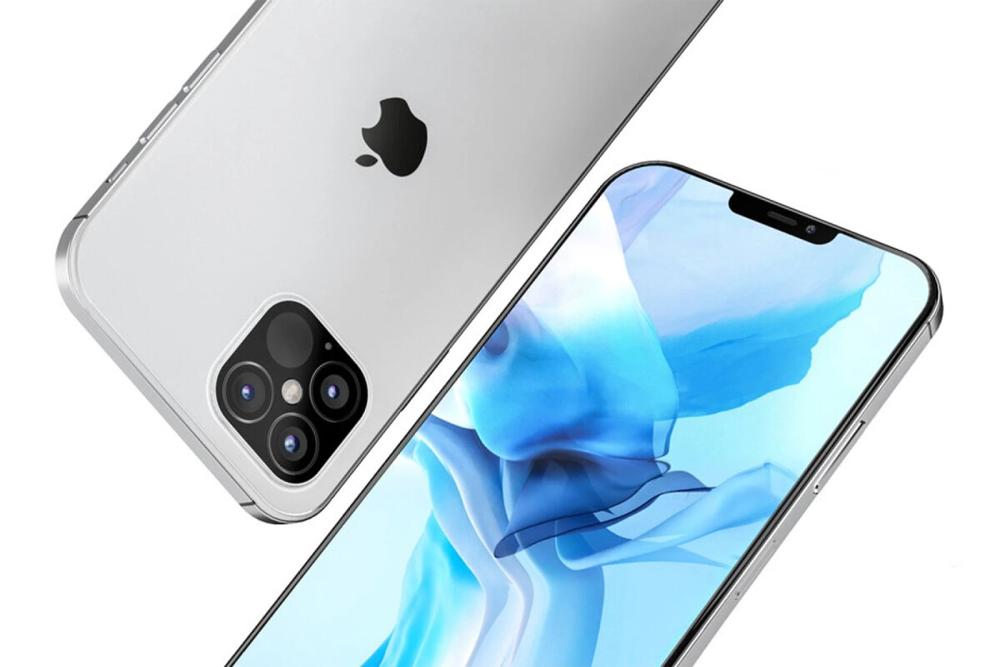 Ý tưởng iPhone 12 Pro với tai thỏ nhỏ hơn. Ảnh: PhoneArena.