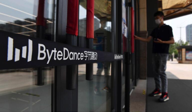 TikTok thuộc sở hữu của ByteDance có trụ sở tại Bắc Kinh. Ảnh: AFP.