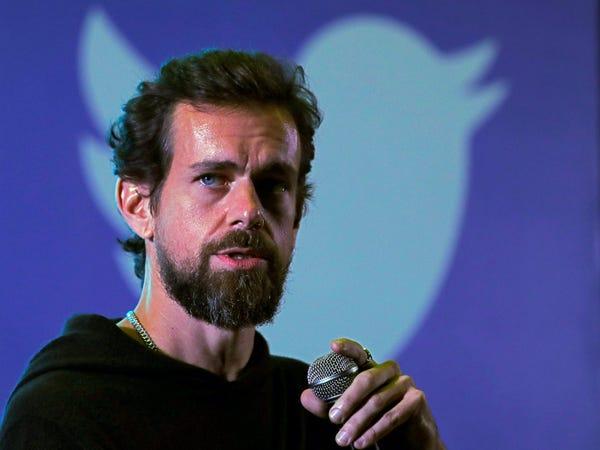Jack Dorsey, đồng sáng lập và CEO Twitter. Ảnh: Reuters.