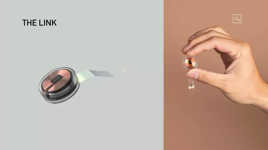 Cuộn dây dẫn dùng để nối các điện cực siêu nhỏ.