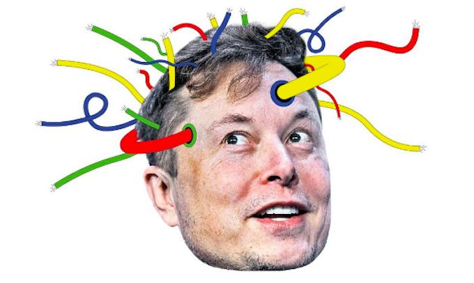 Elon Musk một lần nữa làm công chúng phấn khích với công nghệ Neuralink. Ảnh: Telegraph.