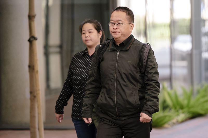 Hao Zhang (bên phải) bị buộc tội đánh cắp bí mật thương mại và gián điệp kinh tế. Ảnh: Bloomberg.