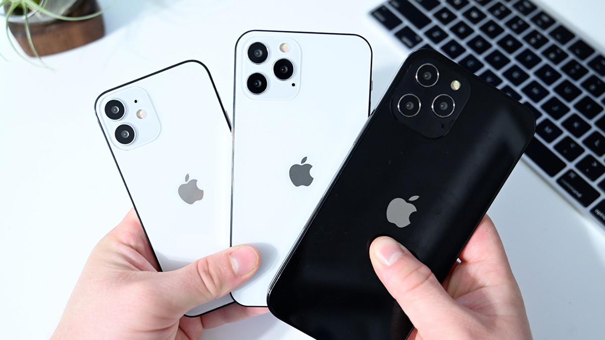Tất cả iPhone 12 đều có 5G, nhưng chỉ iPhone 12 Pro Max có 5G mmWare. Ảnh: Sina.