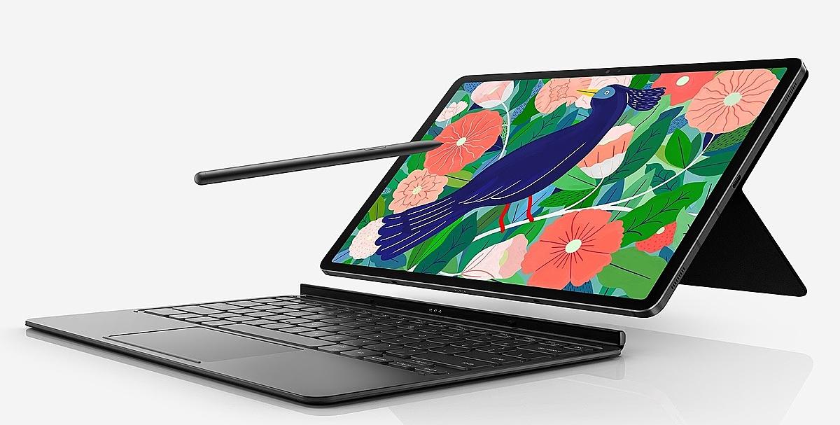 Galaxy Tab S7 và S7+ của Samsung ra mắt thị trường khiến phân khúc pro-tablet sôi động. Ảnh: Samsung.