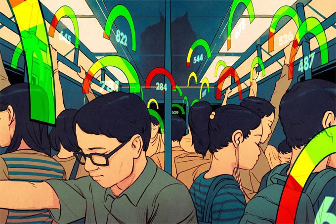 Ứng dụng xếp hạng công dân là một phần trong đạo luật Quy tắc ứng xử Tô Châu ra mắt tháng 5. Ảnh: Wired.