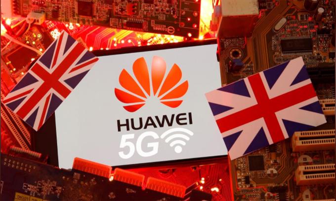 Anh được dự đoán sẽ thiệt hại hàng tỷ USD vì loại Huawei khỏi các dự án 5G. Ảnh: Reuters.