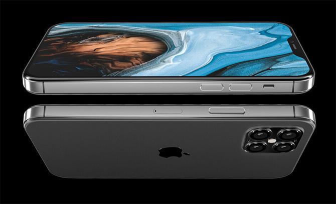 Ảnh được cho là iPhone 12.