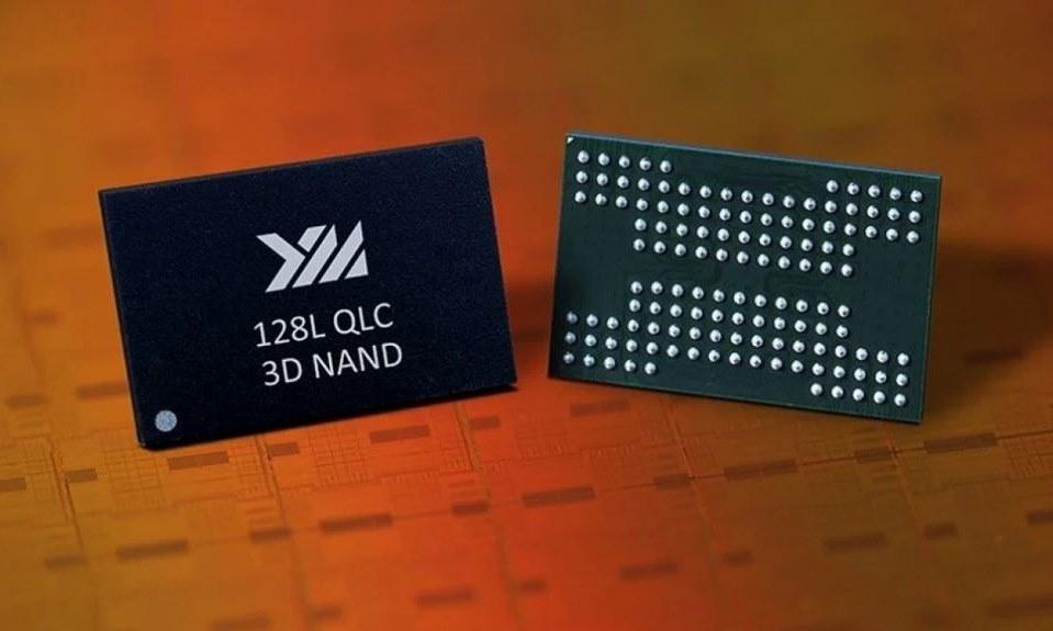 Mẫu chip nhớ 3D NAND được YMTC giới thiệu năm 2018. Ảnh: YMTC.