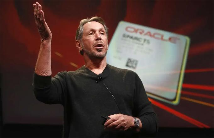 Larry Ellison, đồng sáng lập Oracle. Ảnh: Reuters.