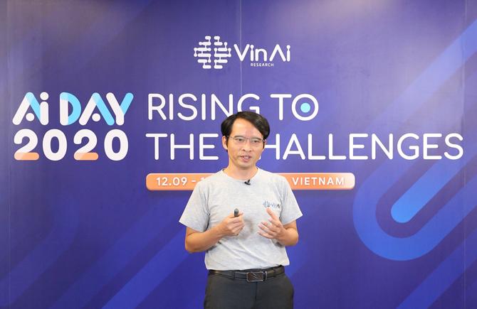 Tiến sĩ Bùi Hải Hưng, Viện trưởng Viện Nghiên cứu Trí tuệ nhân tạo VinAI Research.